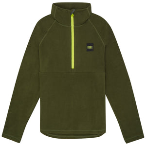 Youth 1/4 Zip Fleece Forest Night