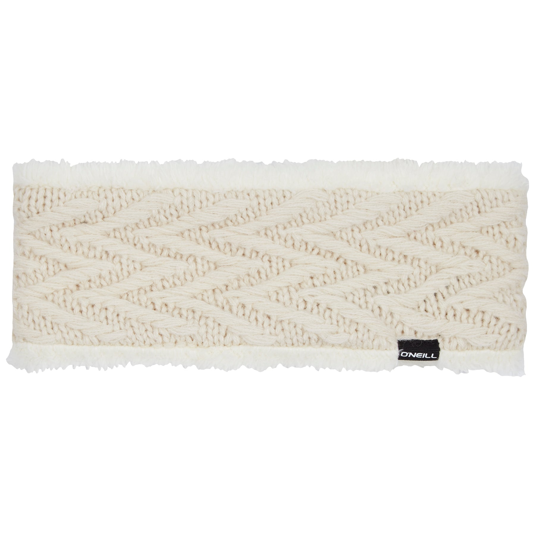 Womens Nora Wool Headband Powder White