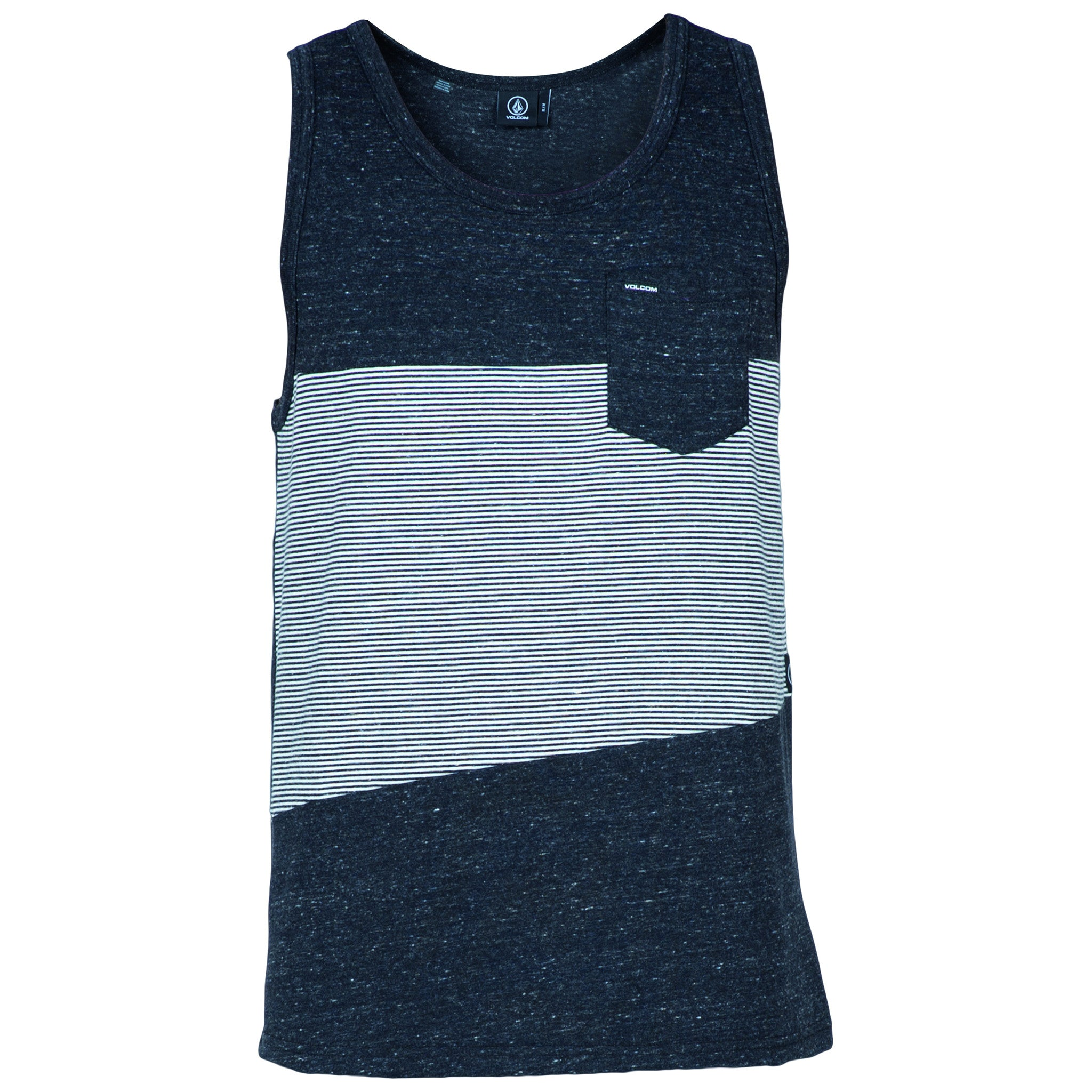Threezy Tank BLK - Stoked Boardshop