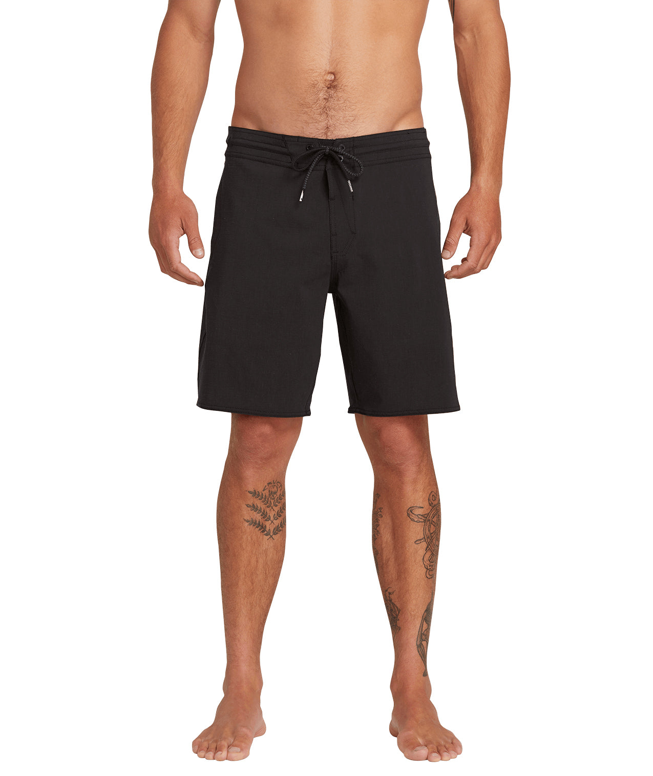Solid Stoney short 19 Black