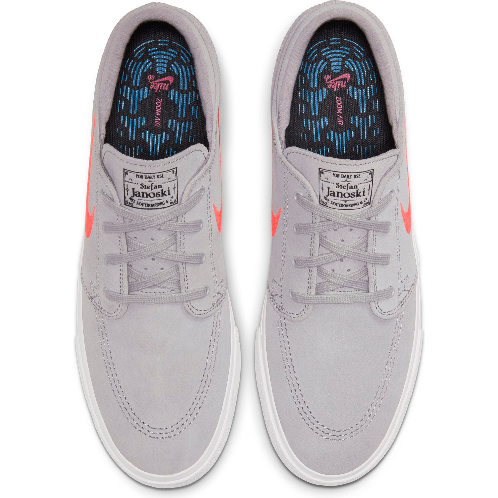 Zoom Stefan Janoski RM Atmosphere Grey/  Bright Crimson