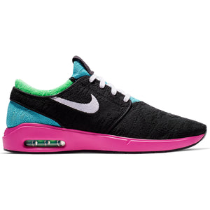 Air Max Janoski 2 Black/White Cabana Electro Green