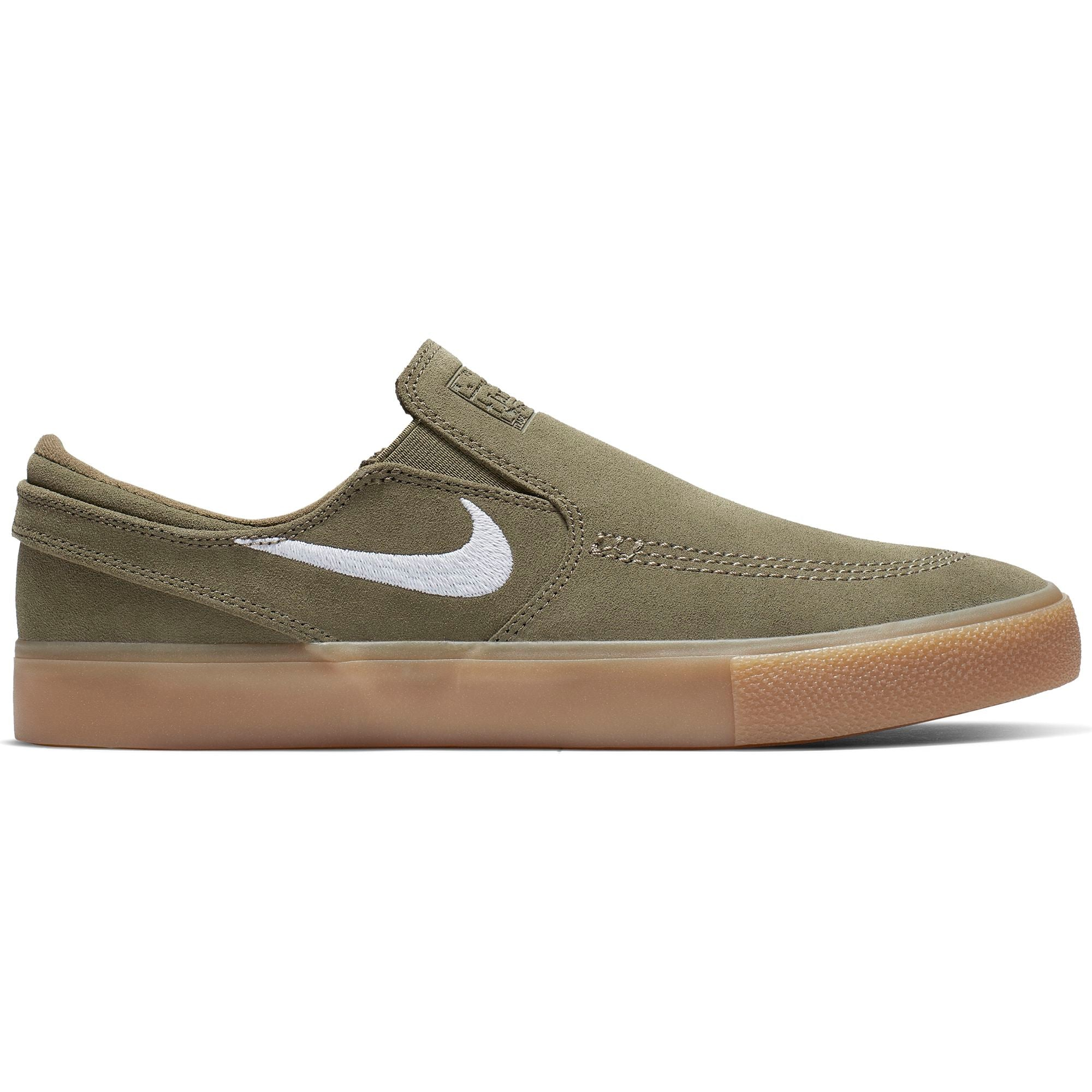 Zoom Stefan Janoski Slip RM Medium Olive/ White