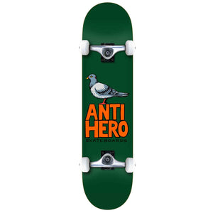 "Pigeon Hero Green 7.75"" Complete Skateboard"