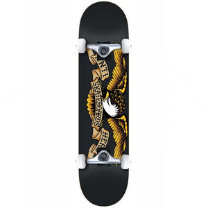 "Team Eagle Black 8.25"" Complete Skateboard"