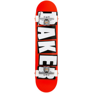 "Brand Logo Red/white 8.0"" Complete Skateboard"