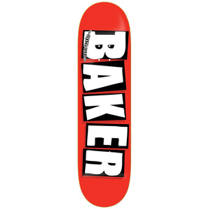 "Logo White 7.5"" Skateboard Deck"