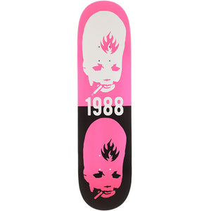 "Thumbhead Stacked 8.5"" Skateboard Deck Pink"