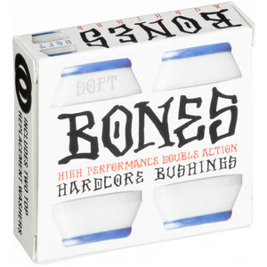 Bones Hardcore Bushings Soft 81A White pack