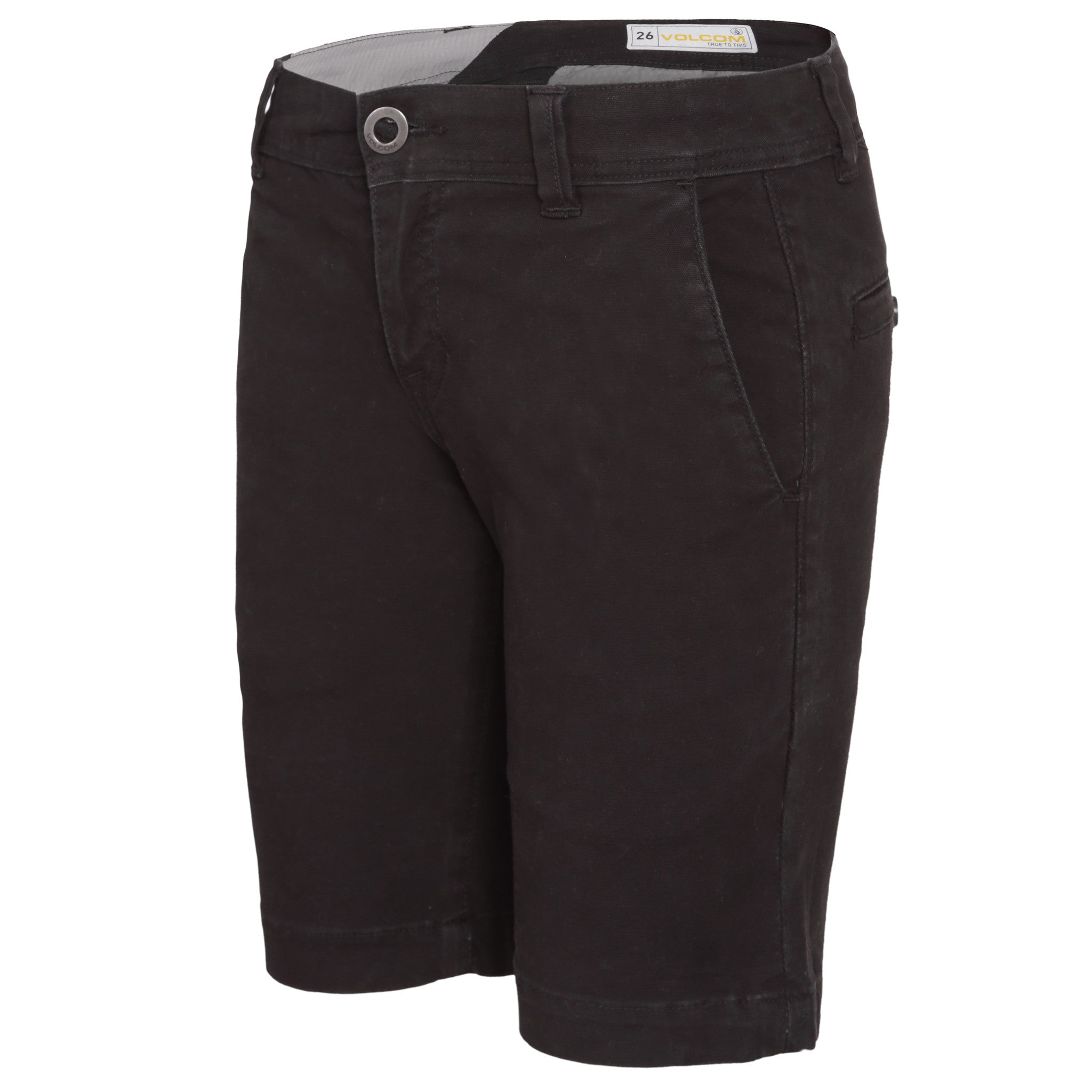 Frickin Slim Short Black - Stoked Boardshop