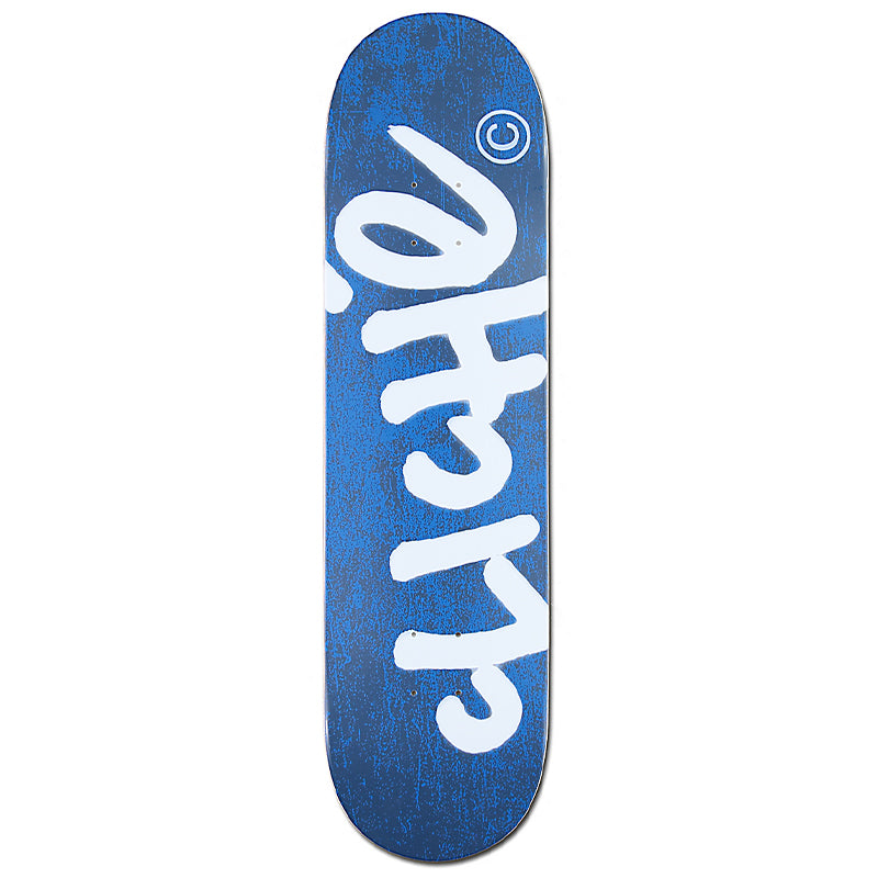 "Handwritten Navy 8.25"" Skateboard Deck"