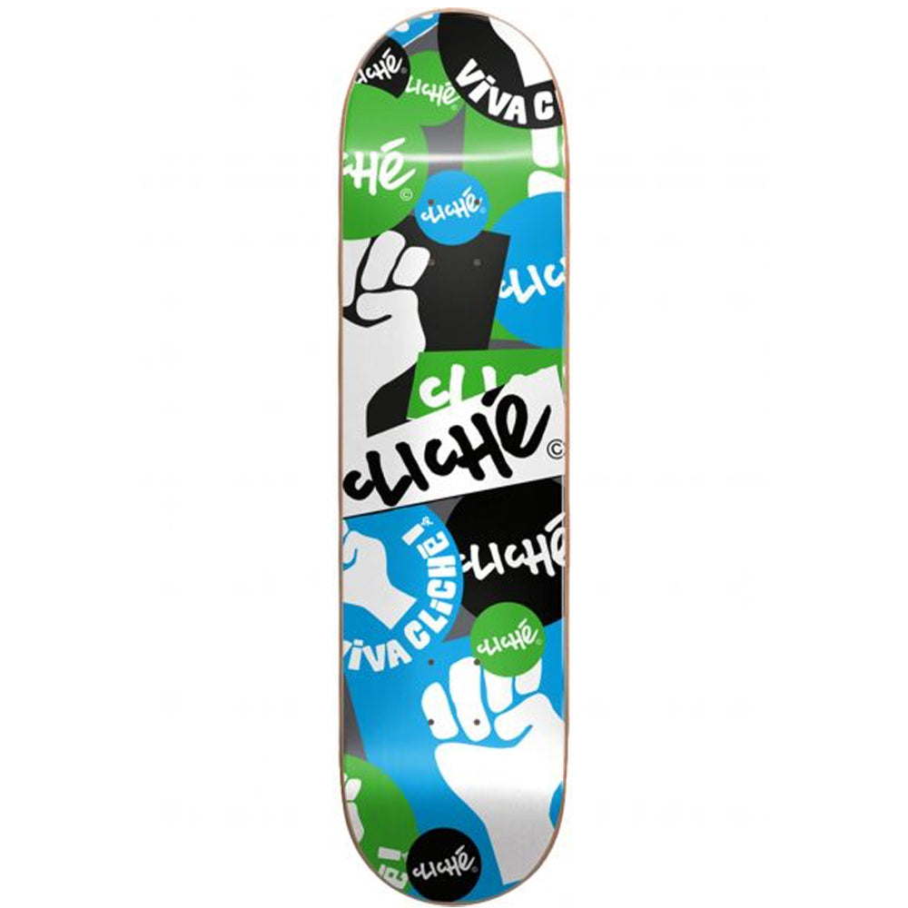 Patch Blue/Green Deck 8.25""
