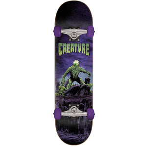 "Colossus Black-Purple 7.5"" Complete Skateboard"