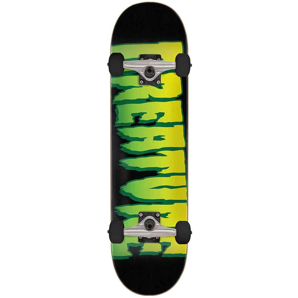 "Logo Black-Green 7.5"" Complete Skateboard"