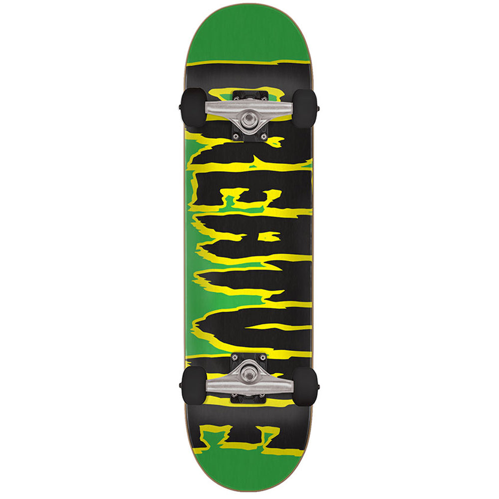 "Logo Creep Green 7.5"" Complete Skateboard"