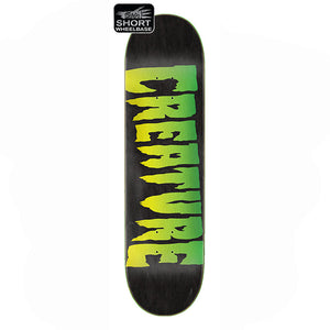 "Logo Stump Black 9.0"" Skateboard Deck"