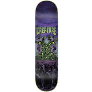 "Awakening Cold Press Purple/Green 8.25"" Skateboard Deck"