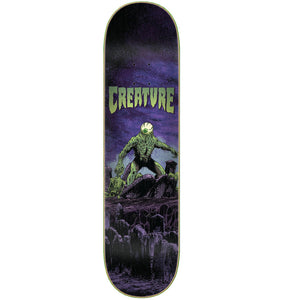 "Colossus Cold Press Purple/Green 8.5"" Skateboard Deck"
