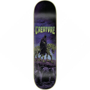 "Corpse Horse Cold Press Purple/Green 8.38"" Skateboard Deck"