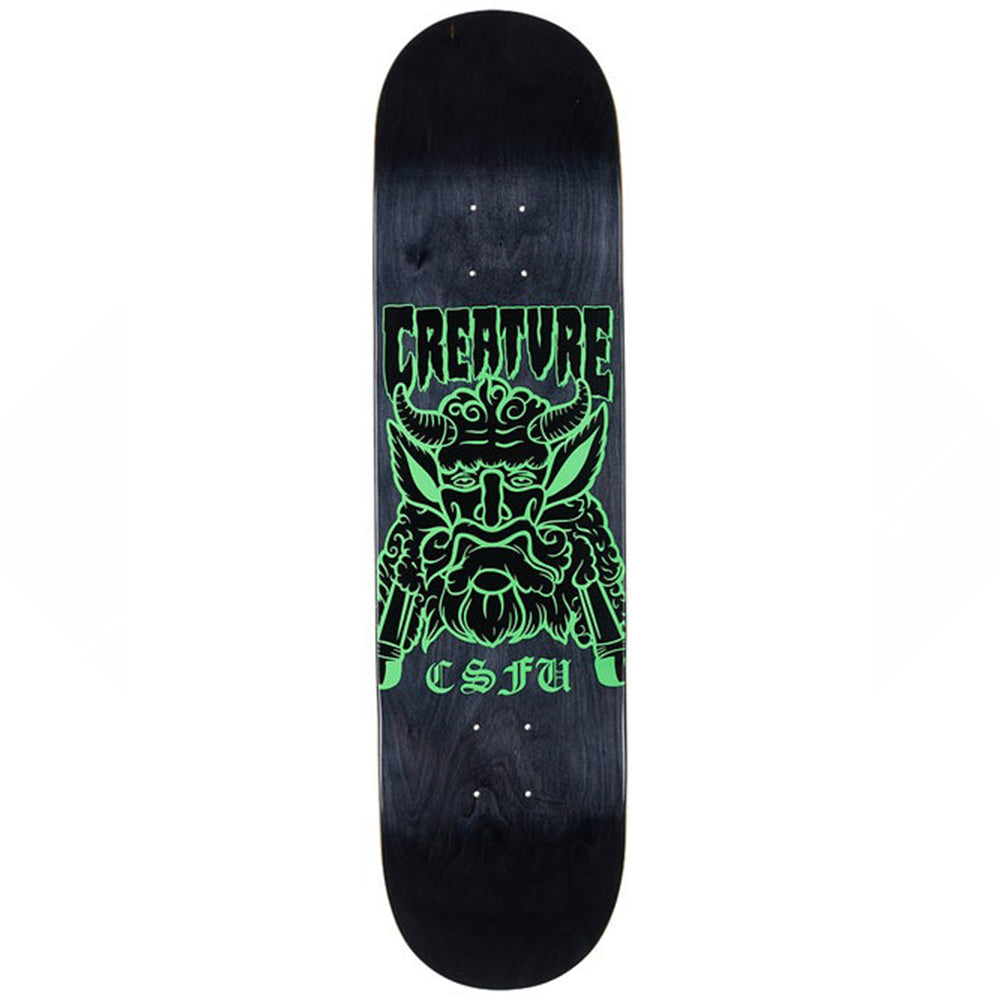 "Offering Hard Rock Maple Black 8.0"" Skateboard Deck"