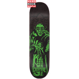 "Vampire Hard Rock Maple Black 8.25"" Skateboard Deck"
