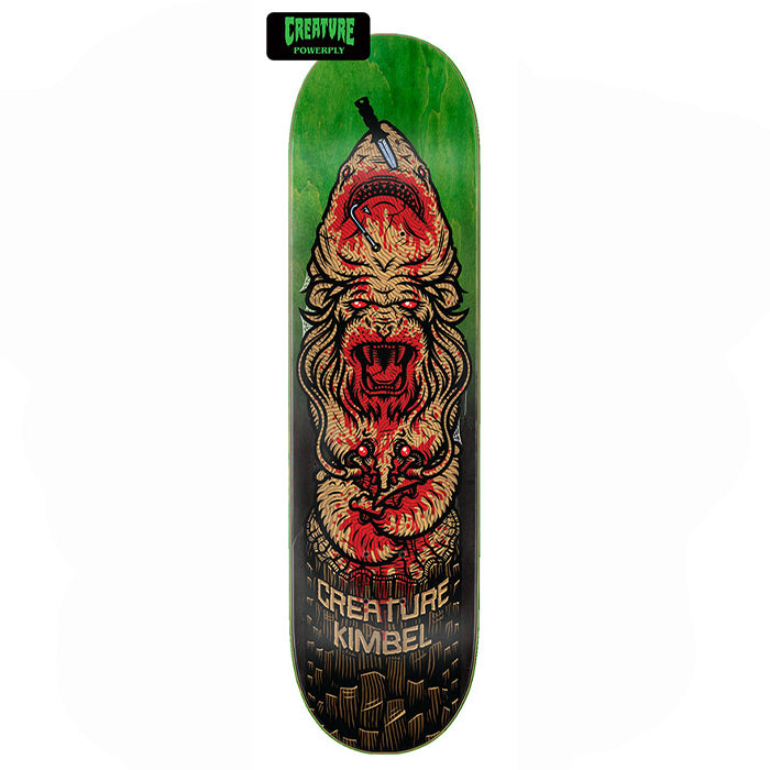 "Willis Kimbel Totem Powerply 9.0"" Skateboard Deck"