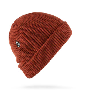 Full Stone Beanie Orange Red