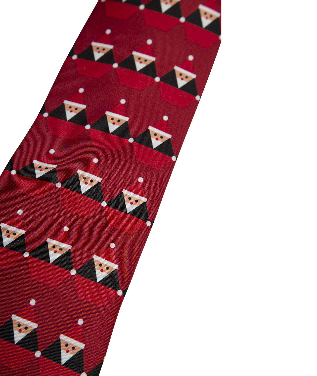 Santastone Neck Tie Deep Red