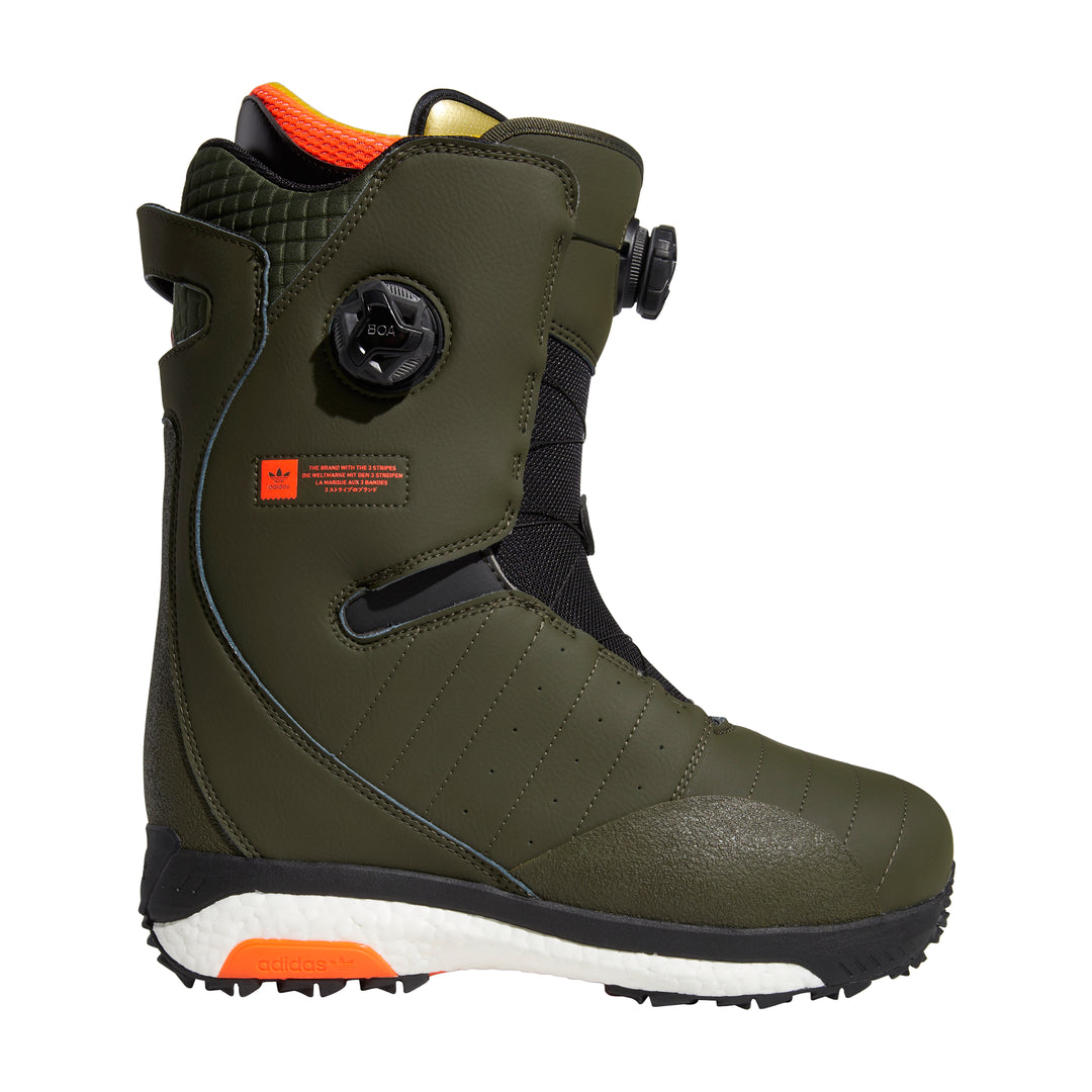 Acerra 3ST ADV Boot Night Cargo/ Core Black/ Solar Red