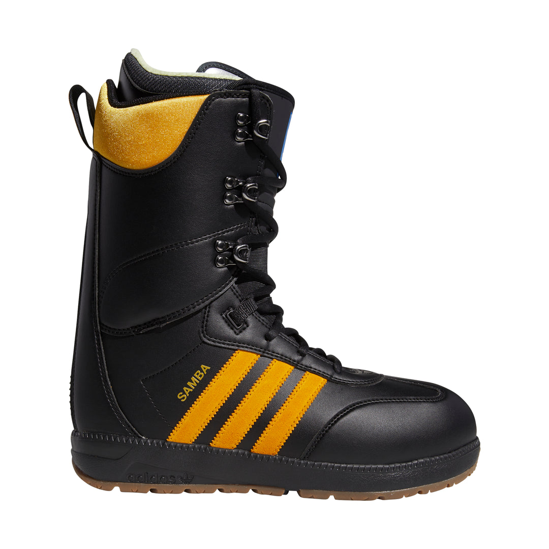 Samba ADV Boot Core Black/ Collegiate Gold/ Gum5