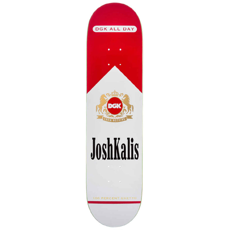 "Josh Kalis Ashes To Ashes 8.0"" Skateboard Deck"