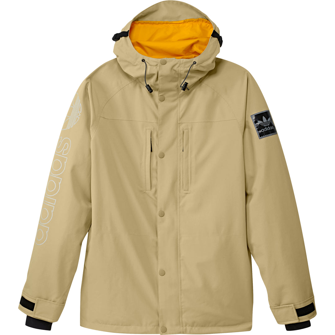 Utility Jacket Sand/ Collegiate Gold