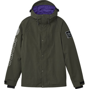 Utility Jacket Night Cargo/ Collegiate Purple