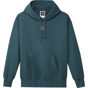Team Hoodie Viridian/ Power Red