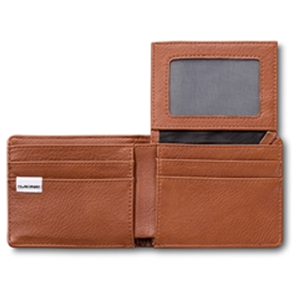 Agent Leather Wallet Brown - Stoked Boardshop  - 2