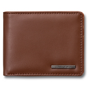 Agent Leather Wallet Brown - Stoked Boardshop  - 1