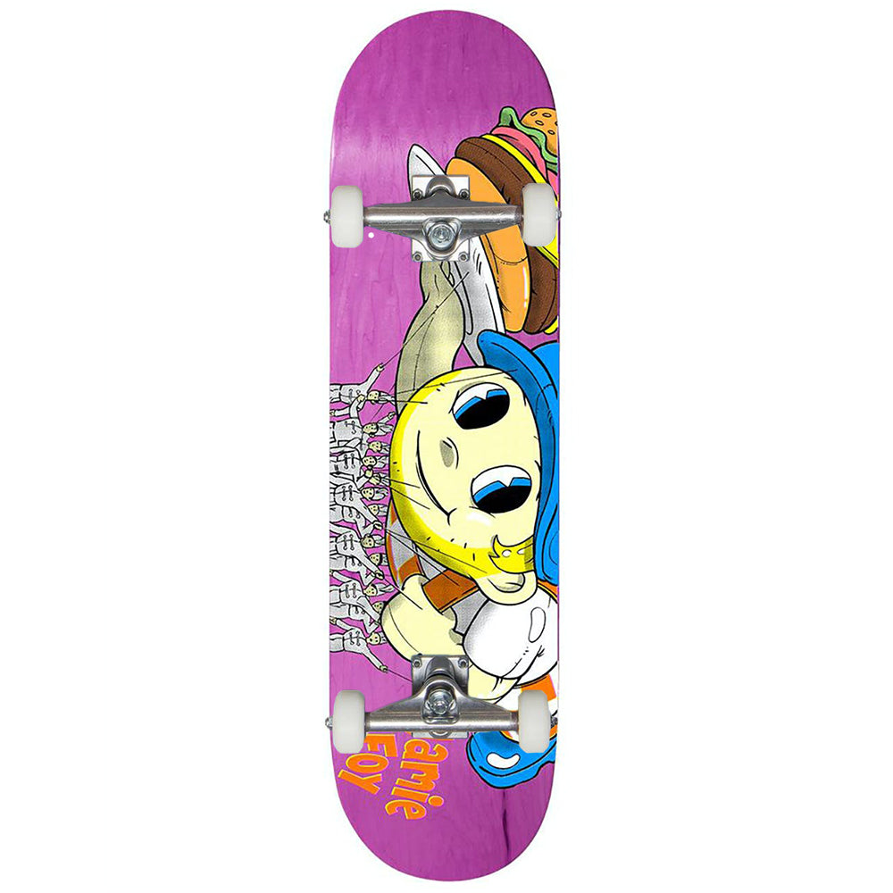 "Big Boy Foy Pink 8.25"" Complete Skateboard"