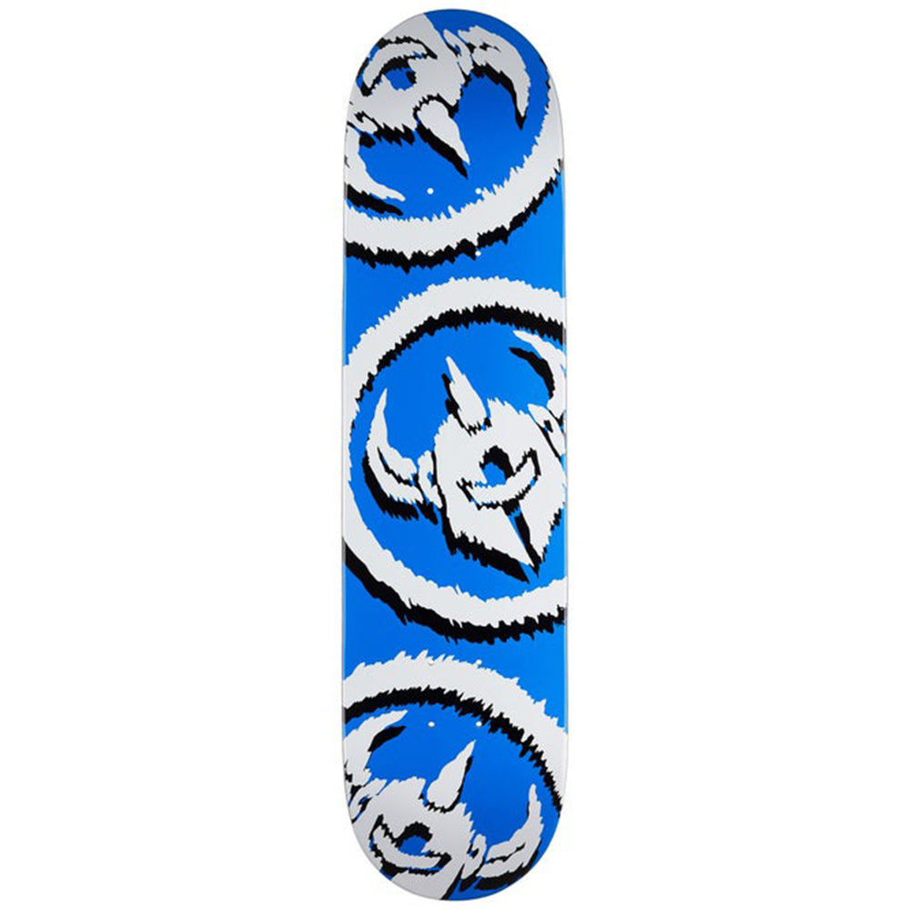 Dissent Skateboard deck blue 7.75""