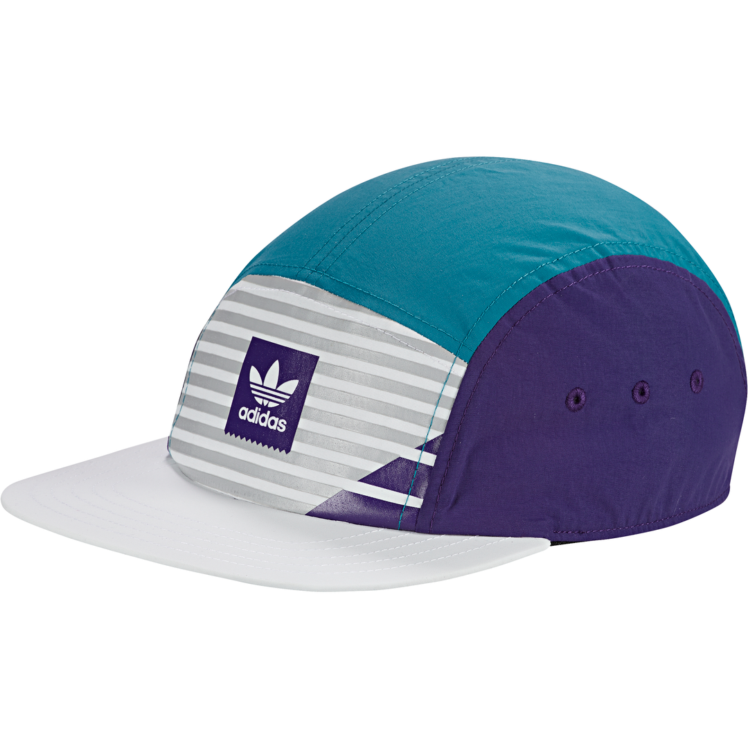 Match 5panel Cap White/ Collegiate Purple/ Grey Two