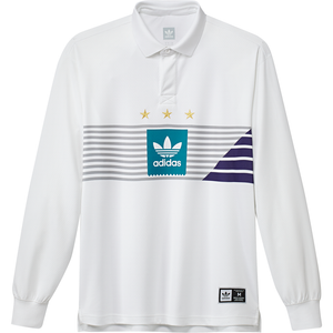 Elevated Longsleeve T-Shirt White/ Grey Two/ Collegiate Purple