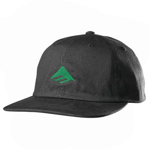 Triangle Low Cap Black/ Green