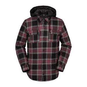 Field Insulated Flannel Red