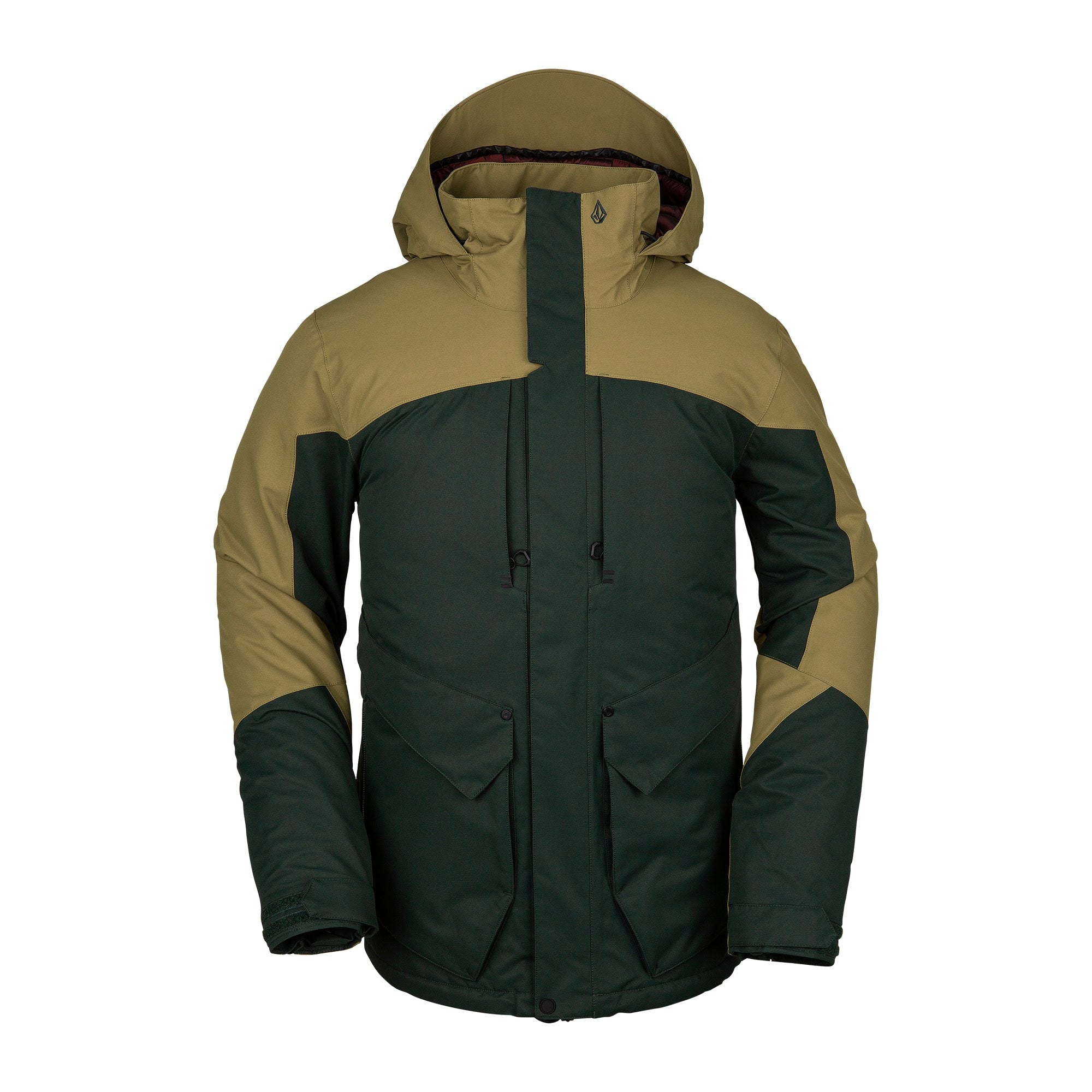 Anders 2L TDS Jacket Dark Green