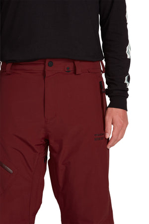 L Gore Tex Pants Burnt Red