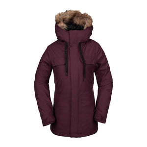 Womens Shadow Insulated Jacket Merlot