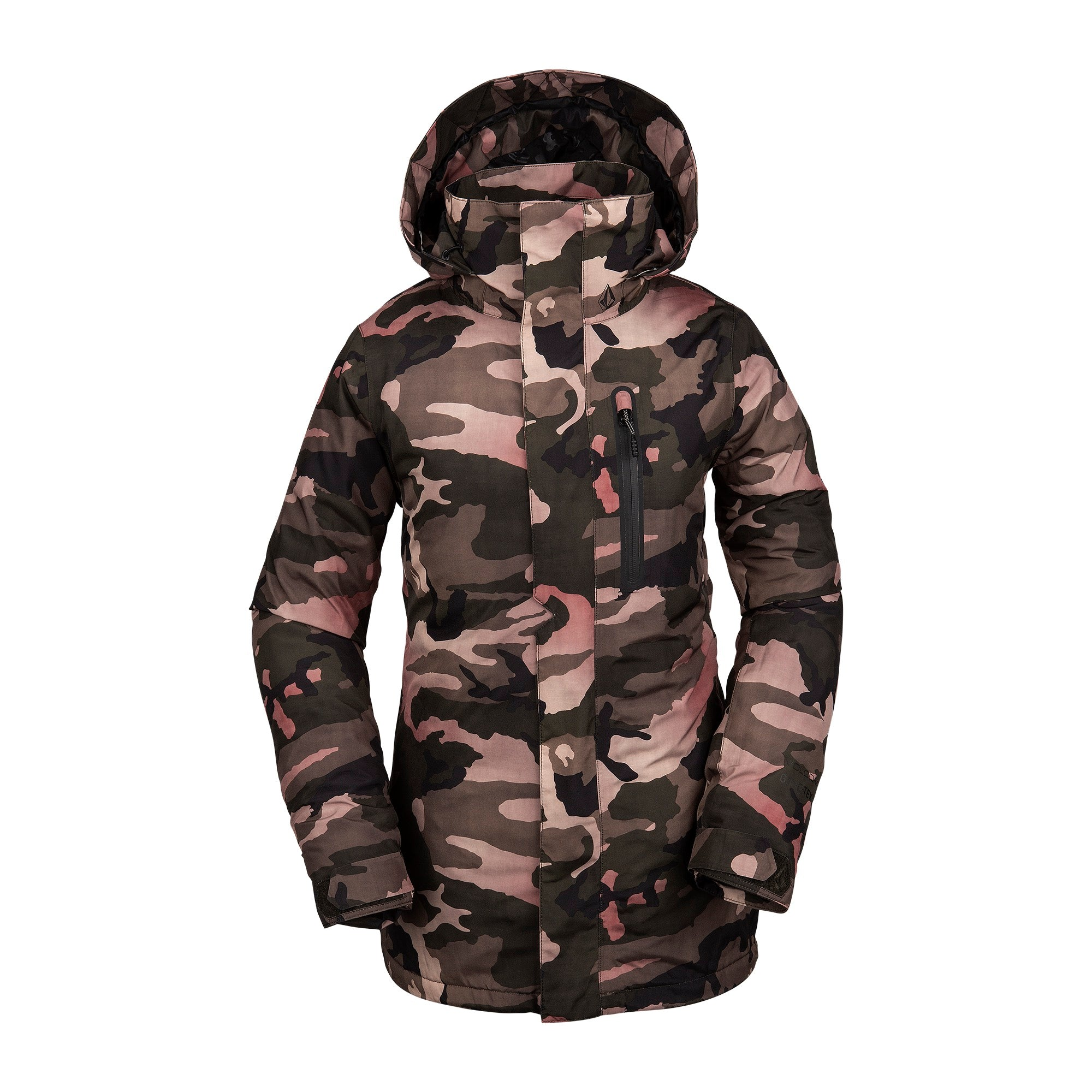 Womens Eva Insulated Gore-Tex Jacket Faded Army