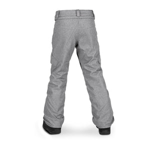 Youth Silver Pine Insulated Pants Heather Grey