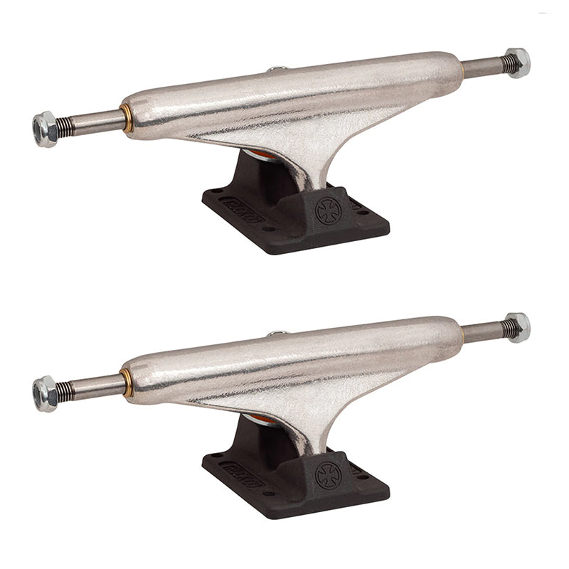 Stage 11 Hollow Silver Anodized Black 149 Skateboard Trucks