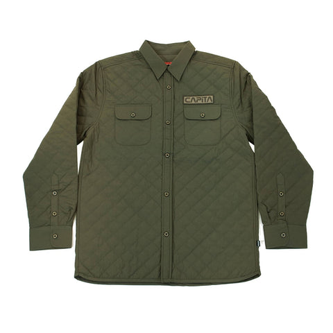 Campita Insulated Flannel Olive
