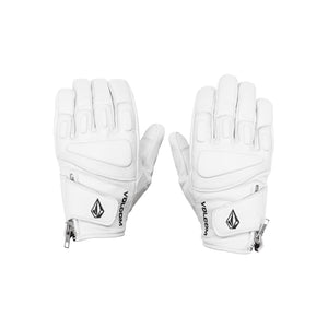 Crail Leather Glove White